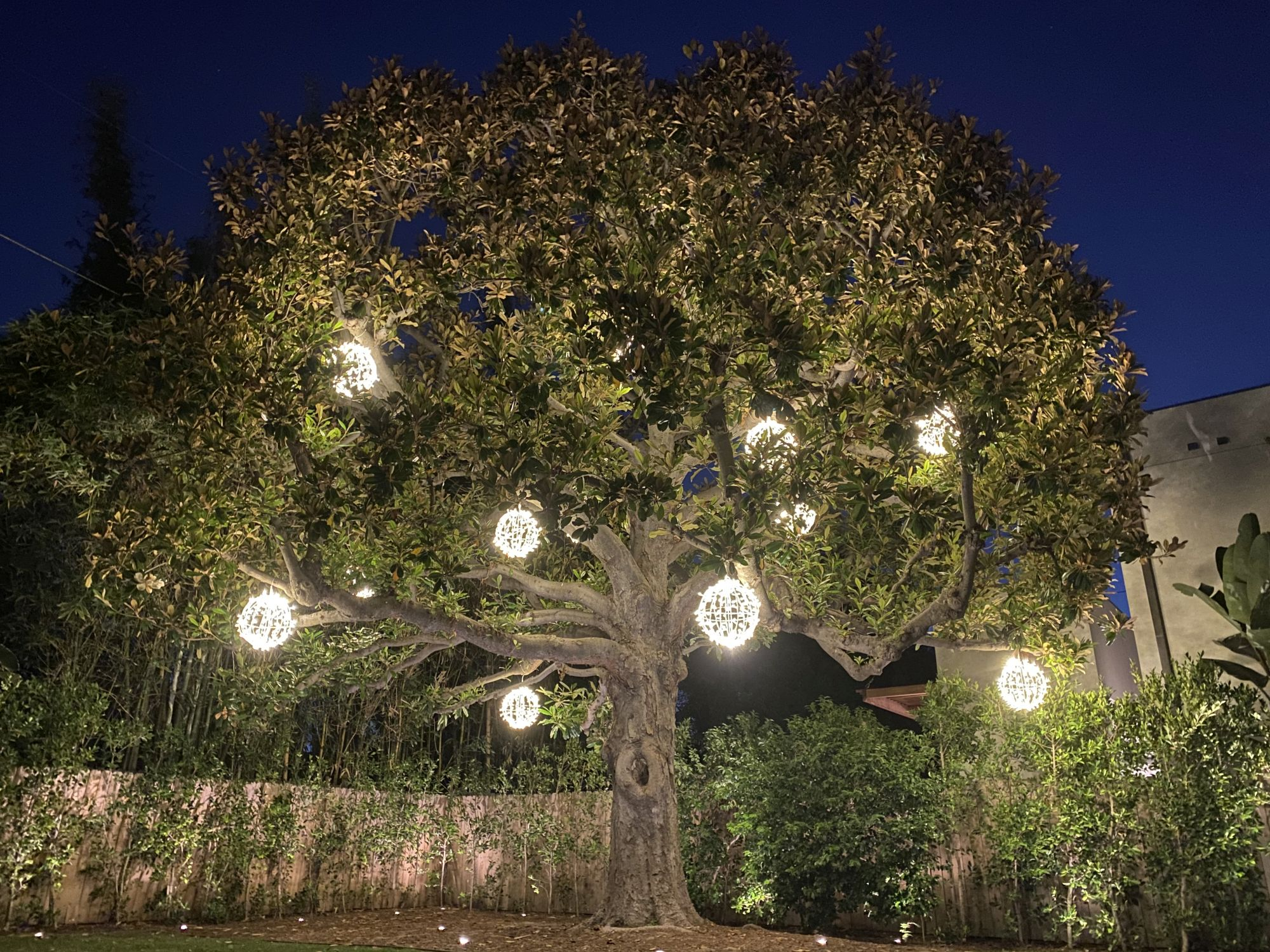 outdoor lighting services in Los Angeles